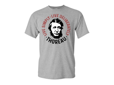 Live Simply - Live Deliberately - Thoreau