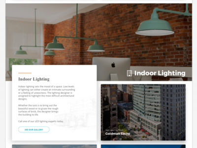 Indoor Lighting Page