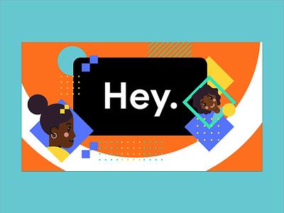 Google Developers Conference Concept Key art events google art design abstract branding vector illustration