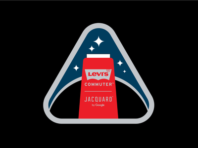 Levis x Jacquard 01 fashion patches jacquard google branding vector illustration