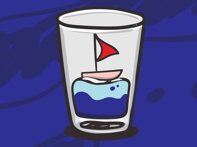 Sailing nowhere