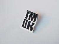 I'm OK pin