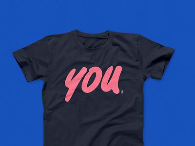 You t-shirt typography fashion