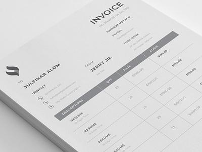 Minimal Invoice mamba designmamba excel invoice design payment bill illustration template design invoice