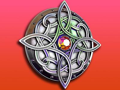 Amulet of Mara c4d design logo illustration render amulet of mara