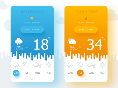 Weather App for mobile