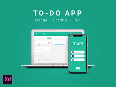[ TASK ] To Do App tunisia gmarellile mongi ayouni android ios web mobile management task todo app ux ui
