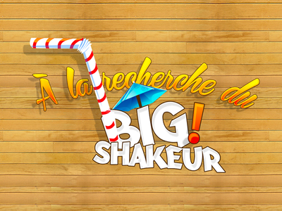 A la recherche du big shakeur gmarellile mongi ayouni milkshake juice facebook advergame branding logotype