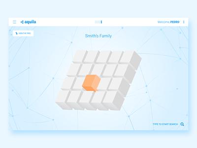 Aquila - 3D Files Navigator tunisia tunisie 3d design xd flat design web web design file management ux design ui dsign user experience ux