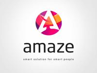 Amaze logo & Branding identity