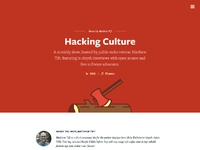 Page podcast show hacking culture wide