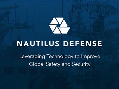 Nautilus Defense Branding branding navy security maritime aperture nautilus logo
