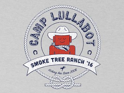 Camp Lullabot Shirt, 2016 ringer t grunge badge ass horseshoe rope camp ranch cowboy lullabot shirt