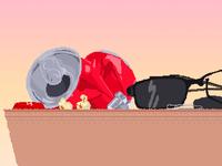 Bug Juice Scenery Pixel Art