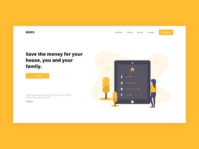Smart Home | Economy energy | Landing