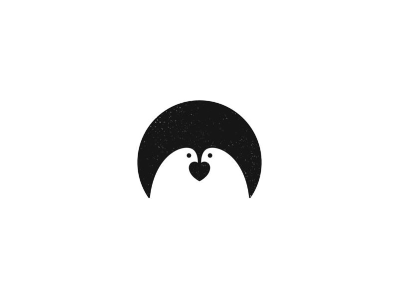 Birds Love animal vector branding minimal illustration icon symbol mark logo