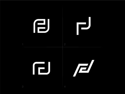 F + J monogram concept j typography minimal branding symbol mark logo monograms monogram design monogram logo monogram