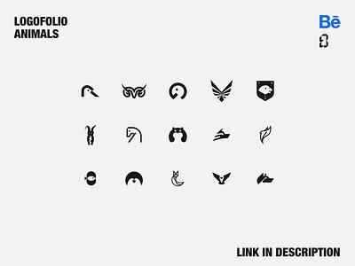 Logofolio identity branding identity logomark forsale logotype animallogo logoforsale behance logofolio minimal branding symbol mark logo