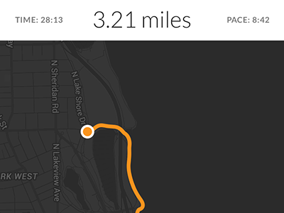 Run tracking