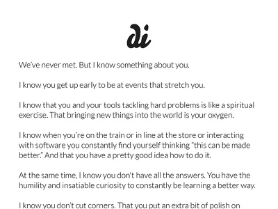 Creative Mornings Note