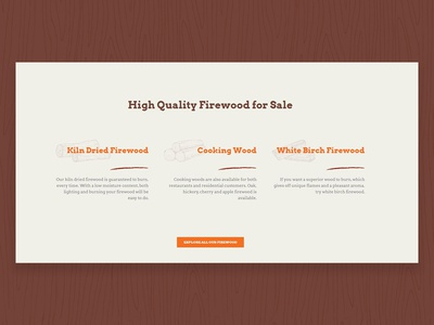 Firewood Web Design