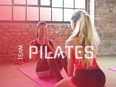 Team Pilates social graphic pilates workout