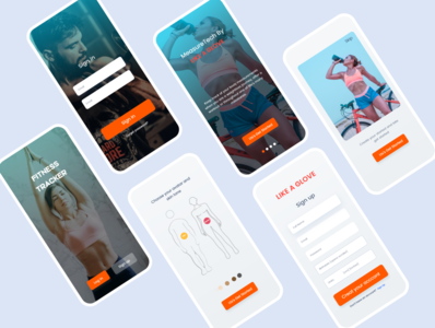 Sign in and Sign up Screen App UI android ios app design signup login page login design madhu mia uidesign sign in sign up ui web ui