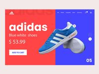Adidas Shoes Web UI