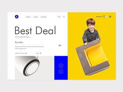 A best deal UI Design uiux dribble shot new trend madhu mia landing best color design web minimal e-commerce