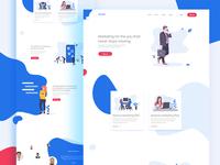 Marketing Web UI Design