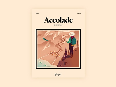 Ginger – Accolade Health Case Study exploration explore hike travel cover editorial