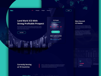 ICO Landing Page Concept