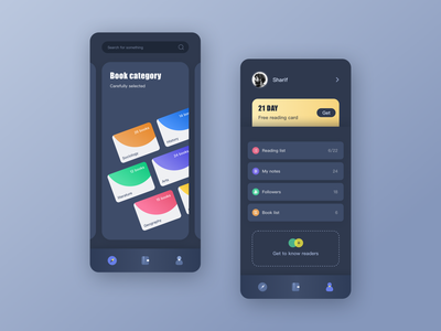 Read app redesign ux ui interface