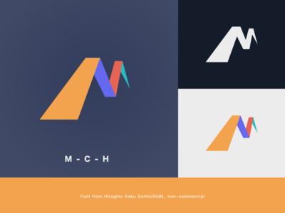 Mlogo logo illustration