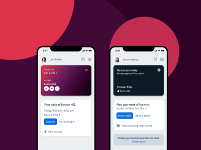 Pass Screens card ui pass reservation ux ui figma design android feed ios mobile figma