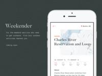 Weekender App