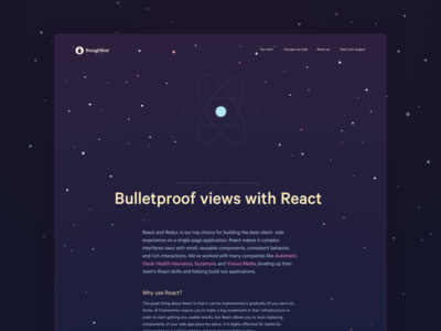 ReactJS and all that thoughtbot reactjs landing page marketing page