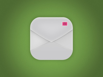 Dribbble Mail Icon