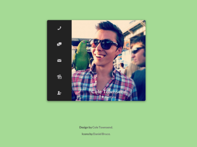 Mini Profile (CSS/HTML)