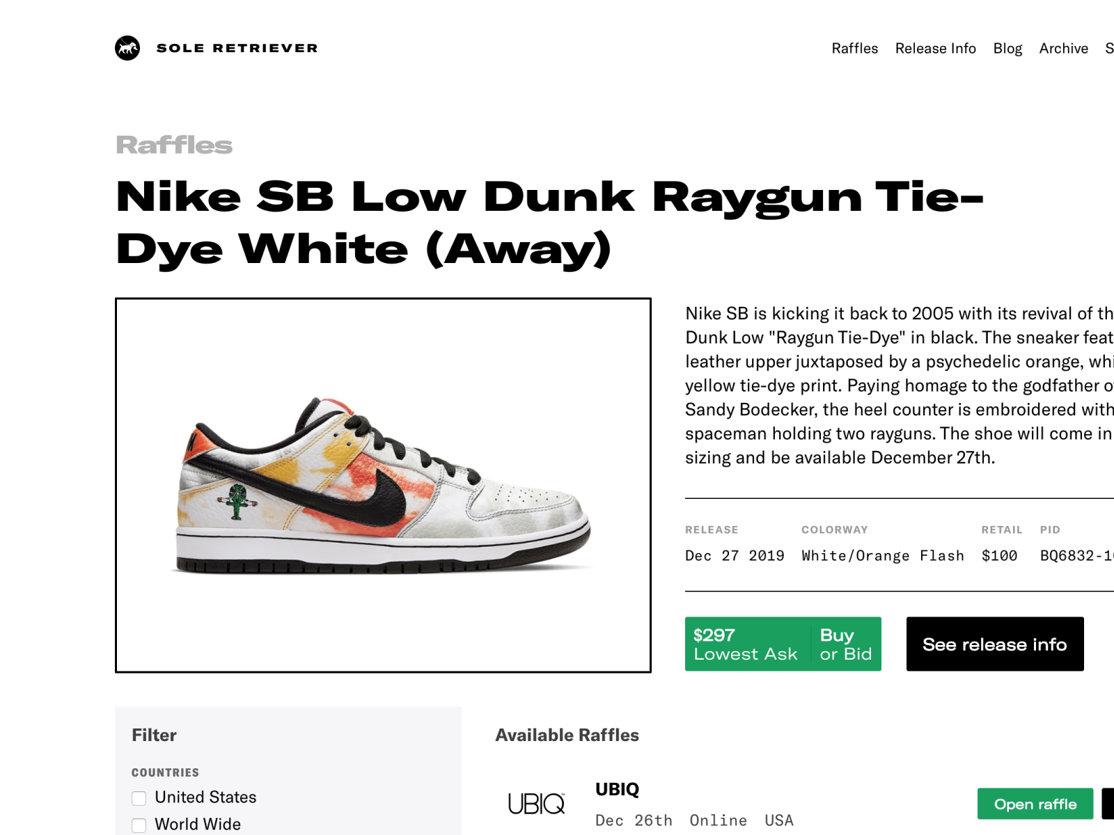 SOLE LINKS on Twitter: Ad: ONLINE RAFFLE of Off White x