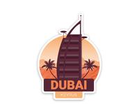 Dubai Branch Sticker