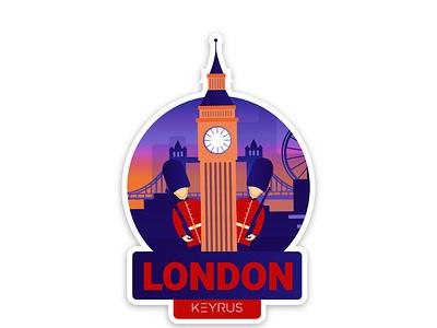 London Our love ux typography ui vector illustration branding graphic  design london