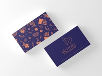 Blue Victrola Card
