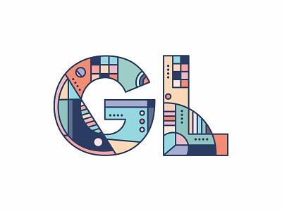 Lettermark Exploration typography art geometric lettermarkexploration lettermark wordmark typography type vector illustrator illustration