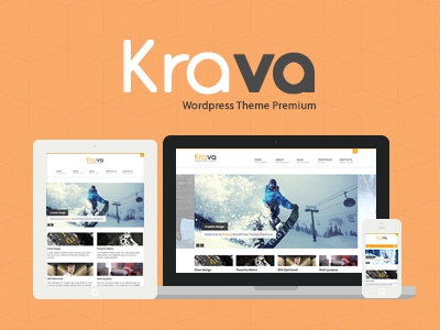 Krava | Multi-Purpose Theme tags adsense agency business corporate design creative drag drop page builder isotope page builder responsive seo yoast