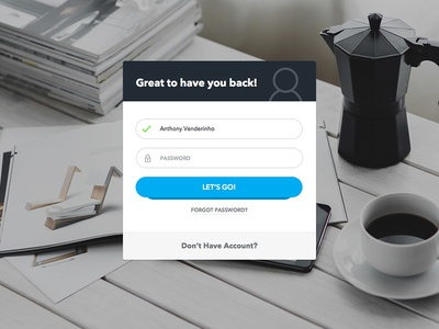 Login Form - Daily UI