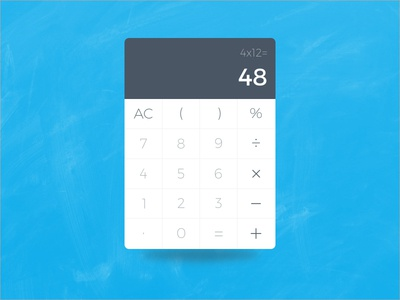 Calculator - Daily UI