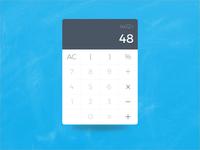 Calculator - Daily UI