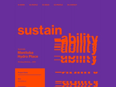Glitch Text Effect static glitch swiss typography ui