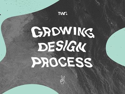 Poster Design vibes summer wavy texture warp melt typography poster